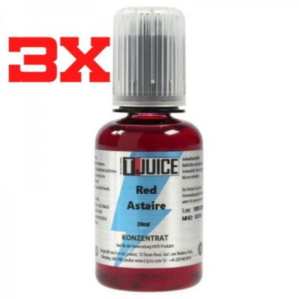 T-Juice Aroma Red Astaire 3 x 30ml